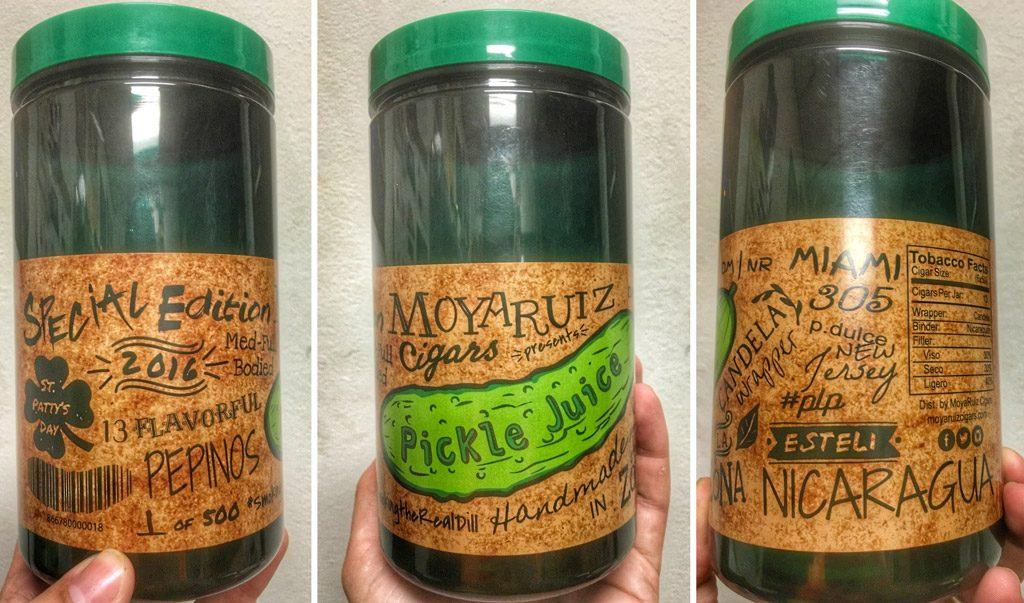 MoyaRuiz Pickle Juice jar