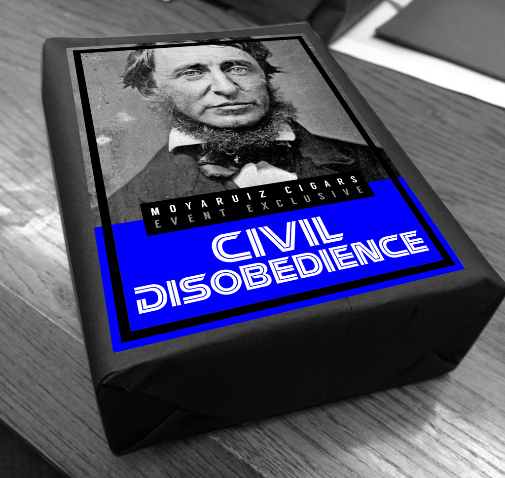MoyaRuiz Civil Disobedience cigar bundle